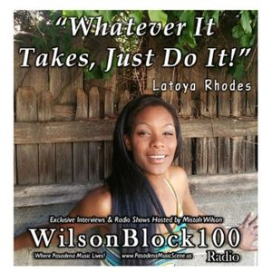 Latoya Rhodes Exclusive Interview on WilsonBlock100 Radio
