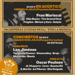 JLChaparro@Festivaldepeñas 2017