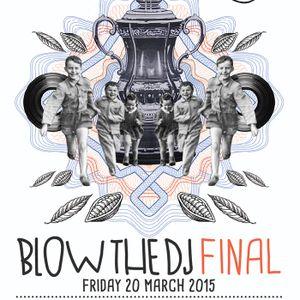 Evans Gougou @ Blow the DJ 2014/5 Final @ The Real Rocknrolla