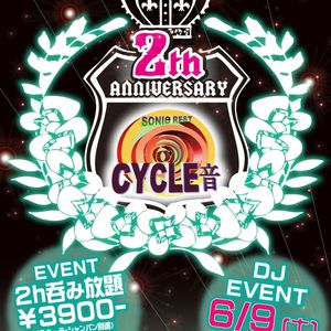 2012.6.9 CYCLE音 2nd Anniversary【Hardstyle mix】