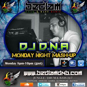 DJ D.N.A. 1.5.17 MONDAY NIGHT MASHUP LIVE ON BEDLAMDNB.COM