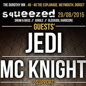 DJ Jedi Live @ Squeezed August 2015