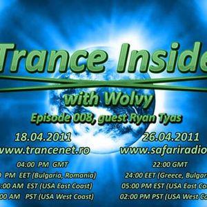 Trance Inside 008 18.04.2011 (Guest Ryan Tyas)
