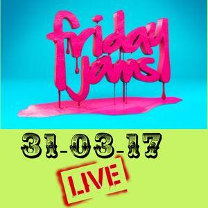 FRIDAY JAMS 31-03-17 HBRS LIVE MIX DJ SKY TRINI