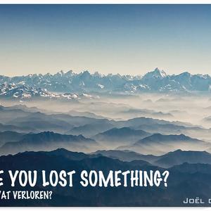 Joël de Boer - have you lost something - 28.10.2012
