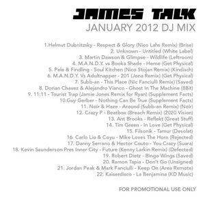 James Talk - January 2012 DJ Mix