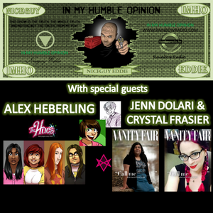IMHO-2015-06-09, with Alex Heberling, Jenn Dolari & Crystal Frasier