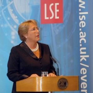 Michelle Bachelet @LSE : Empowering Women to Meet New Challenges..