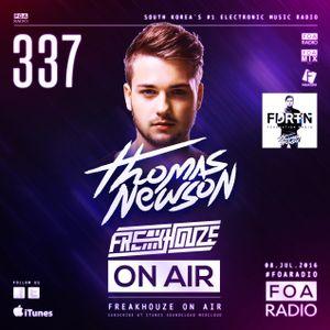 Freakhouze On Air 337 ● Thomas Newson
