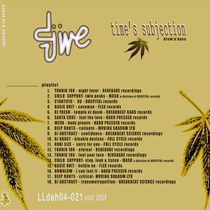 Dj Djive - LLdeh04-021 Time's subjection - D&B
