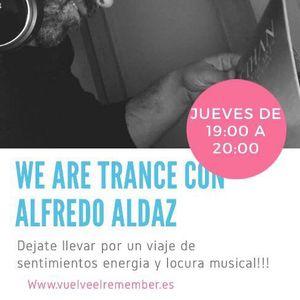WE ARE TRANCE #WAT-001# Alfredo Aldaz Dj
