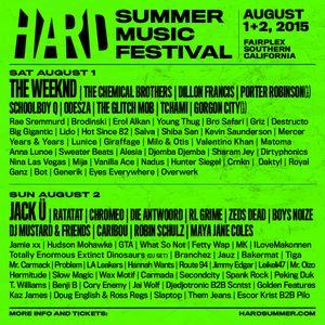 Hard Summer 2015: Day 1 Mixtape