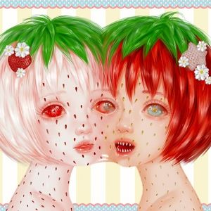 Fluffy Tufts / Strawberries