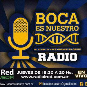 Boca es Nuestro. Programa 25. Jueves 23/2/17 en IRed