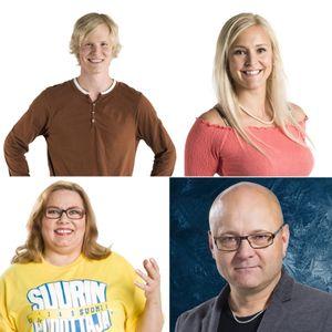 Viihteellä 21.11.2019: BB-Anu & Helmeri, selostaja Tapio Suominen, Suurin pudottaja Nina Mikkonen...