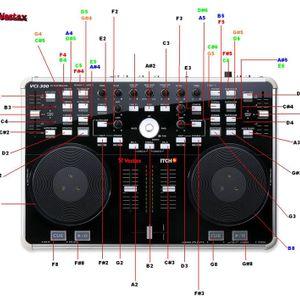 My 1st Vestax VCI-300 Mix
