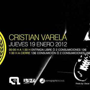 Cristian Varela & Alvaro Martin - Live @ Sala Pirandello, Madrid, Espanha (19.01.2012)