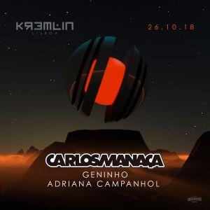 Magna Recordings Radio Show by Carlos Manaça #030 | Live at Kremlin (Lisboa) Portugal