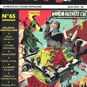Les Autres Voix de la Presse ! Papiers Nickelés, l'imagerie populaire en exergue avec Yves Frémion