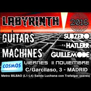 Labyrinth (Cosmos Bar Madrid) - Guitars VS Machines - GuilleMODE - 11/11/2016