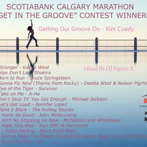 """SCOTIABANK CALGARY MARATHON """"GET IN THE GROOVE"""" CONTEST WINNER - Getting Our Groove On - Kim Coady"""