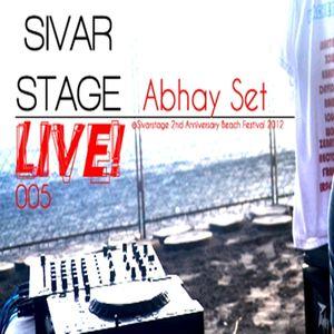 Sivar Stage LIVE! 005 Abhay Set @ Beach Festival 2012 - 18/08/12