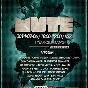 NoSenior LIVE @ MUTE 1 Year Celebration, R33 - Living Room/Library (2014-09-07)