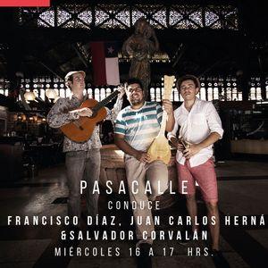PASACALLE 9 - INVITADOS EDUARDO RUIZ-TAGLE Y FERNANDO PINTO (COMIC VARÚA RAPA NUI)