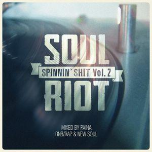 Spinnin' Shit Vol.2 - RnB/Rap & NewSoul mixed by Paina