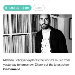 Deano Sounds on KCRW with Mathieu Schreyer