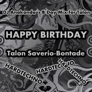 DJ Anakonda - Happy Birthday Talon Saverio-Bontade