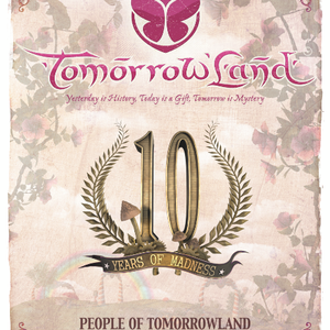 dj Youri Parker @ 10 Years Tomorrowland Belgium - Age of Love stage 20-07-2014