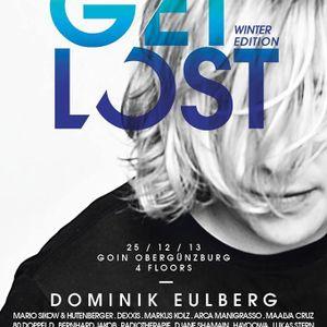 """Bernhard Jakob """"Get Lost"""" Go In - Obergünzburg, 25.12.2013"""