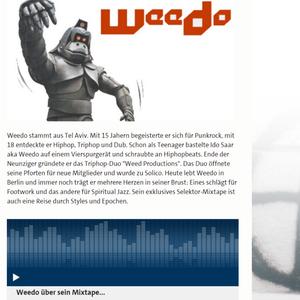 Weedo - Mix For Selektor @ Funkhaus Europa, October 2016