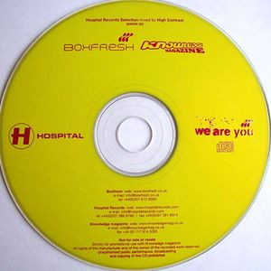Kmag Issue 22 Mix CD - Hospital Records Selection mixed by High Contrast