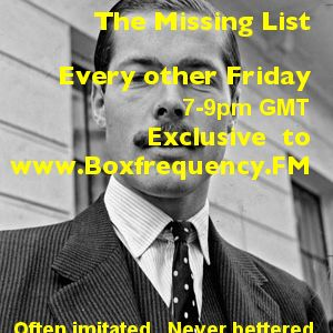 The Missing List - Tartrazine Takeover Show