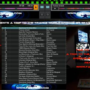 Fab vd M Presents A Trip To The Trance World Episode 84 Season 11 Remixed