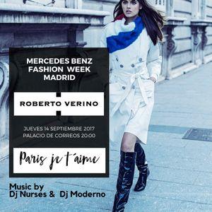 """""""Paris Je T'aime"""" ROBERTO VERINO FASHION PARADE MADRID SEPTEMBER 2017"""