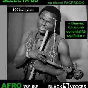 AFRO '70 '80 by BLACK VOICES DJ (Besançon) 100% VINYLES (set dj en direct facebook)