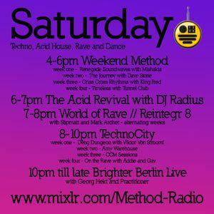 The Acid Revival Show with Radius on Method Radio 10/07/21