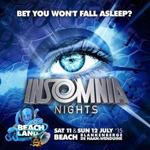 dj Mario @ Beachland - Insomnia Nights stage 11-07-2015
