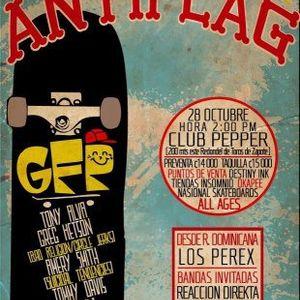 2012 10-28 7:12:56' p.m. Anti-Flag @ Costa Rica - Peppers Club