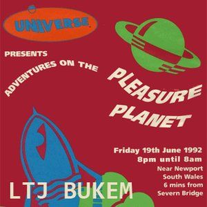 LTJ Bukem - Universe Pleasure Planet x Back in the Day Live 19.06.1992