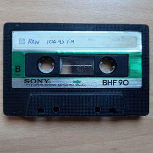 DJ Andy Smith Lockdown tape digitising Vol 23 - Raw Radio Bristol 104-9 FM - 1988- Hip Hop/House