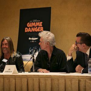 "Iggy Pop & Jim Jarmusch ""Gimme Danger"" Press Conference Part Two"