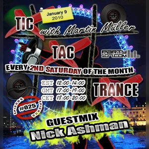 Tic Tac Trance #025 with Martin Mueller