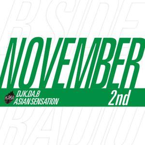 #BsideRadio Nov 2nd Half Mixed by @DJKDAB