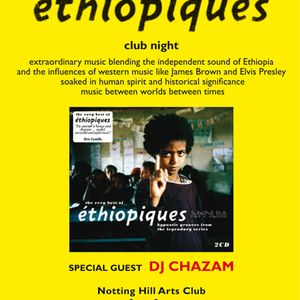 Chazam plays Ethiopiques music