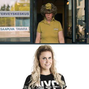Viihteellä 17.10.2019: Näyttelijä Jenni Kokander ja BB-Mira haastattelussa