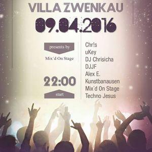DJJF feat. uKey - Warm Up Mixtape Villa Zwenkau